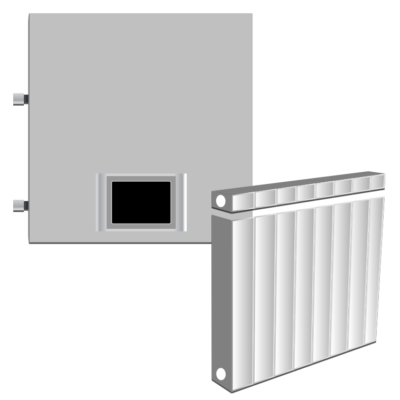 Электрокотел с радиаторами или конвекторами