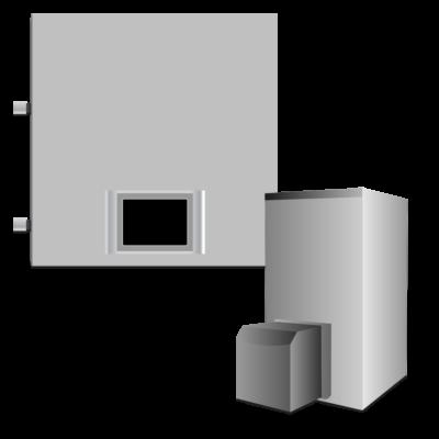 Электрокотел с газовым или дизельным котлом